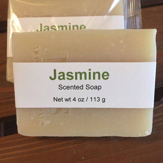 Jasmine Scented Cold Process Soap with Shea Butter