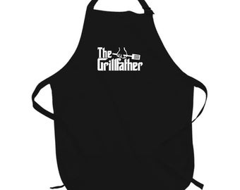 The Grill Father ( Can Add Name) Apron