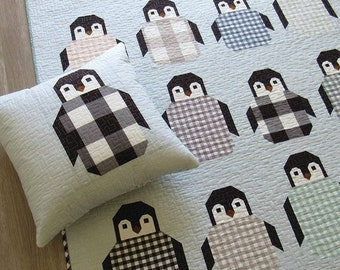 Penguin Party by Elizabeth Hartman - Quilt Pattern