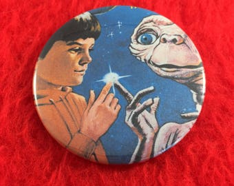 E.T. The Extra Terrestrial Pinback Button 2 1/4""