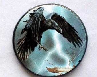 RAVEN of MORRIGAN Talisman Amulet Wicca Pagan