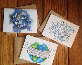 Be Kind Mix and Match 4x6 Card Set