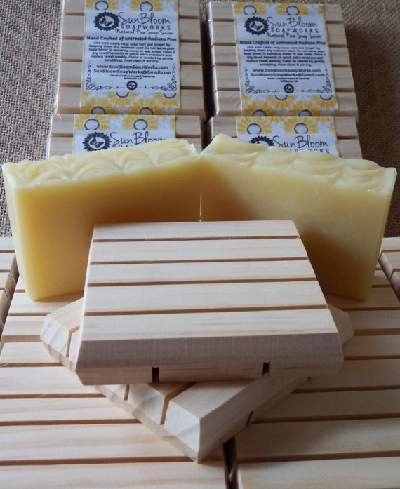 Natural Pine Soap Saver
