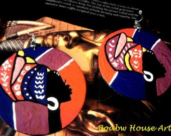 On & On Headwrap Colorful (Earrings)