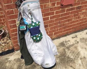 Clip-on Golf Purse