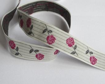 La rose - light grey/BlackBerry/Grey Ribbon