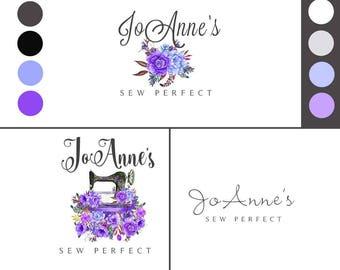 Sewing Logos, Branding Logos, Logos, Business Logos, Feminine Logo, Logo Brand, Business Logo Design, Custom Branding, Sewing Logo, Logo Kit