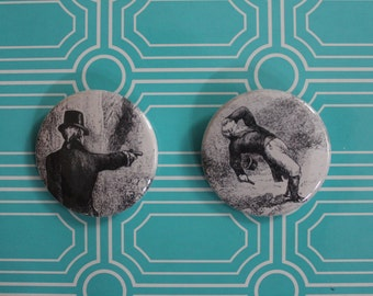 Burr & Hamilton Duel - Buttons OR Magnets
