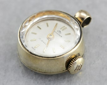 Vintage Bucherer Watch, Pendant Watch, Ladies Watch, Layering Pendant ZYPY6FCK