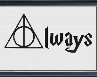Harry Potter Always w/ The Deathly Hallows