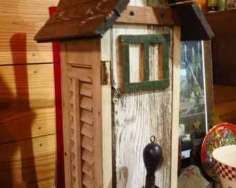 Birdhouse made with Vintage Shutters