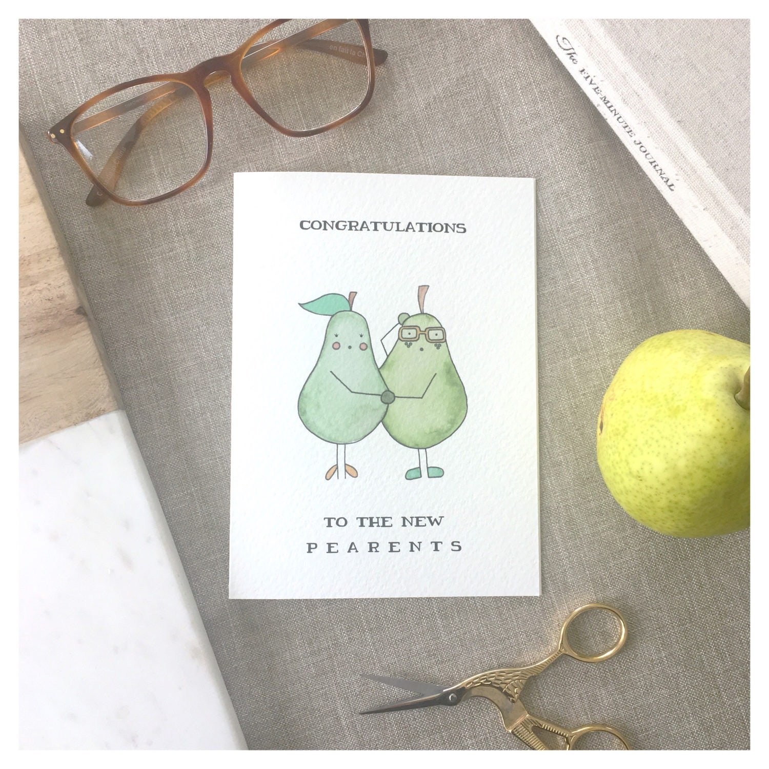 PARENTS CARD baby shower card funny baby card baby shower card