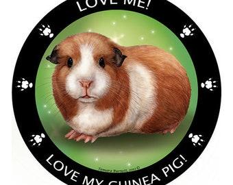 Guinea Pig My Best Friend Magnet