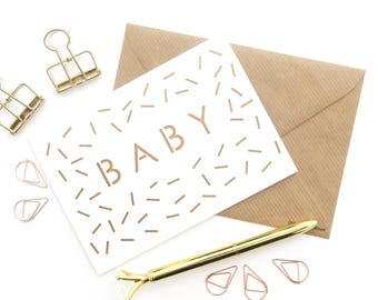 New baby card, New arrival card, Baby girl card, Baby boy card, Expecting card, Welcome to the world card, Arriving card, Baby papercut card