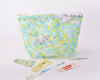 Toiletry Pouch - Raccoon