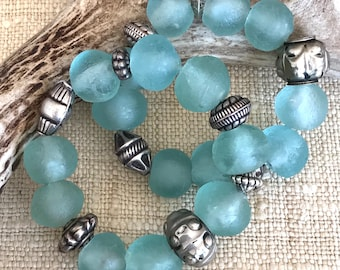 Tribal Inspired Boho Chic Beaded Bracelet
