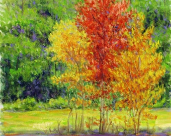 """11x14"""" 'Spring Tree's' oil painting"""