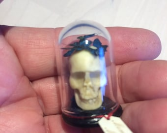 Dollshouse miniature Momento Mori
