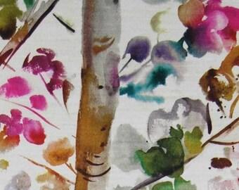 Voyage  Fabric - Izusa -  Lotus -  Velvet/Chenille  Fabric - Sold per metre Low Price