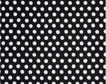Kaffe Fassett Classics Rowan and Westminster Spot GP70 Black with White PWGP070 Noirx Polka Dots
