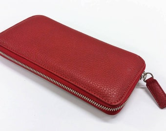 Ruby Leather wallet. Wallet leather Ruby.
