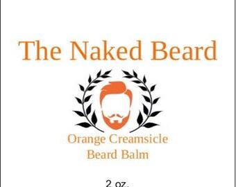 Orange Creamsicle Beard Balm