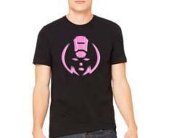 Pink robot shirt