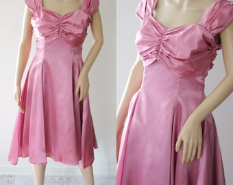 SALE - Lovely 80s/90s Bridesmaid/Prom/Evening Dress