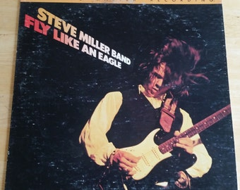 Steve Miller Band - Fly Like An Eagle - MFSL1-021 - 1976 (1979 Reissue) - Mobile Fidelity Sound Labs - Original Master Recording - NM!