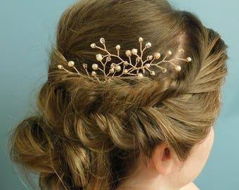 Simple wedding hair pins prom hair piece updo hair accessories bridal hair accessories