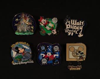 Walt Disney World Pin Set 1