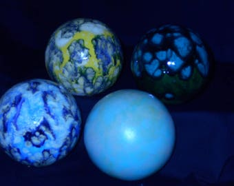 Gazing Balls Ceramic for Yard or Indoors - small