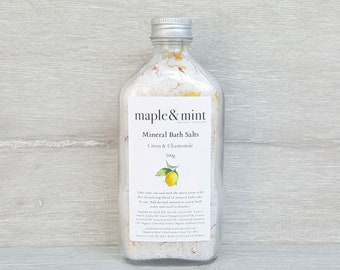 Citrus & Chamomile Mineral Bath Salts