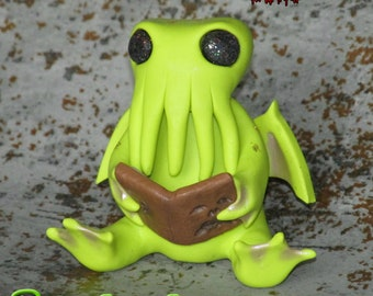 Cthulhu GOREnament, Lovecraft Inspired Ornament, Cthulhu Ornament, Cthulhu Figure, Necronomicon.