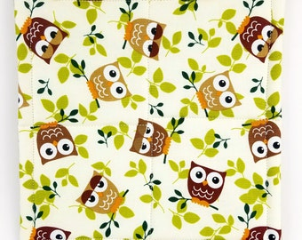 Give a Hoot - Pot Holder Set (Set of 2)