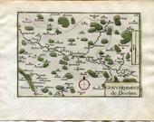 1634 Nicolas Tassin Map D...