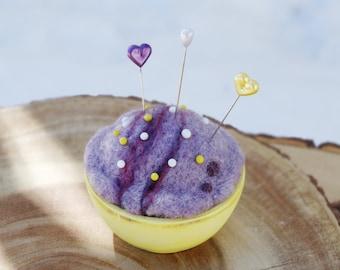 Ice cream pincushion