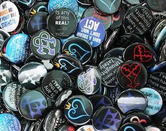 Kingdom Hearts 12 Button Set