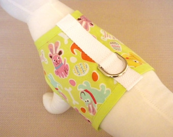 Easter Bunny Dog Harness Vest