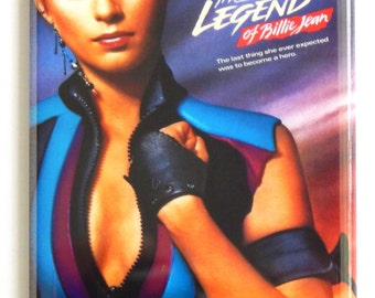 Legend of Billie Jean Movie Poster Fridge Magnet