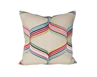 Assisi Multi designer pillow covers - Made to Order