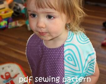 Supersize Me bib - PDF sewing pattern