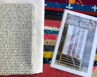 Read between the Lines by Alison Glass KIT With fabrics by Alison Glass SunPrints and Handcrafted Indigos