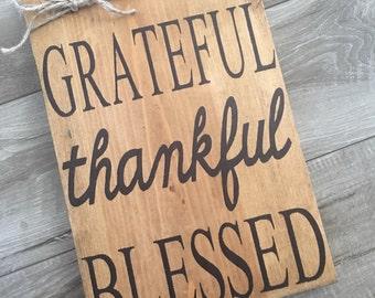 Grateful~thankful~Blessed