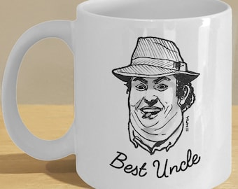 Best Uncle Gift Ceramic Mug - Favorite Uncle Coffee Cup - Only a few bucks!