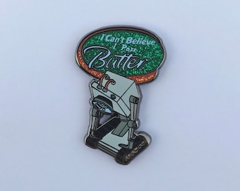 Rick And Morty Butter Robot Hard Enamel Pin