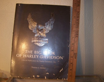 First Edition of The Big Book of Harley- Davidson Thomas C. Bolfert