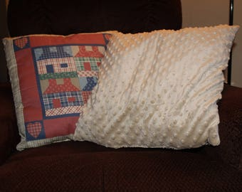 Country decor primitive looking pillows