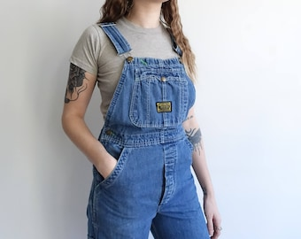 Vintage 70s Dee Cee Denim Overalls/ Sanforized Made in USA/ Size Small 30