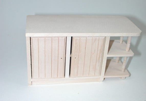 Kitchen desk, for the doll parlour, the doll's House, Dollhouse miniatures, cribs, miniatures, Model Building # v 22032